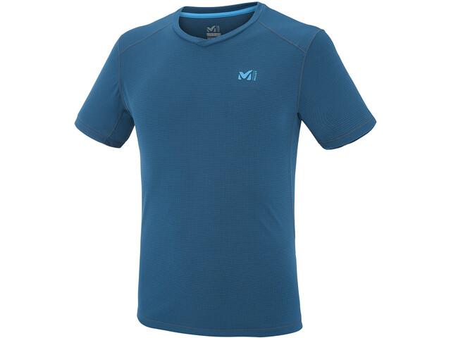 Millet Roc Base Short Sleeve Shirt Herr poseidon